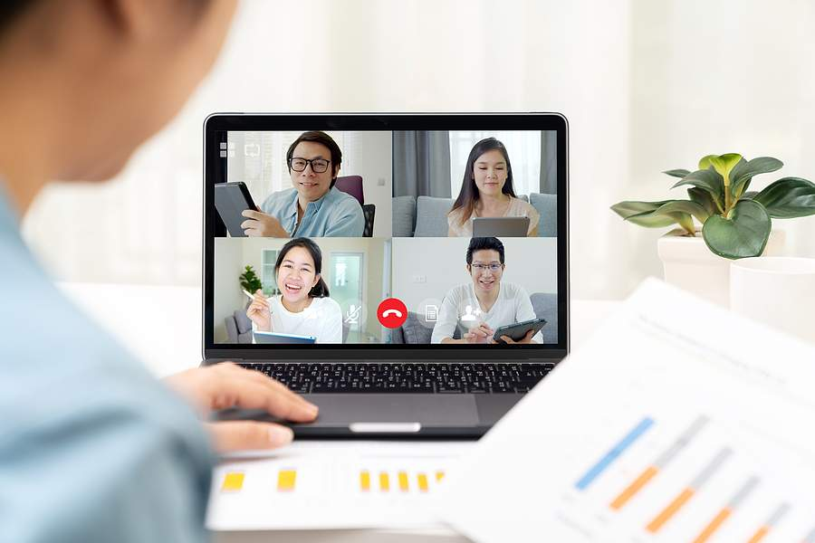 Tips to Stay Connected with Co-Workers While Working from Home